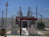 Imprisoned migrants seeking better prison conditions describe an attack by pepper- spraying guards