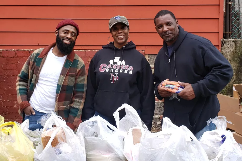 The pandemic hasn't stopped Newark school workers from giving fresh veggies to families
